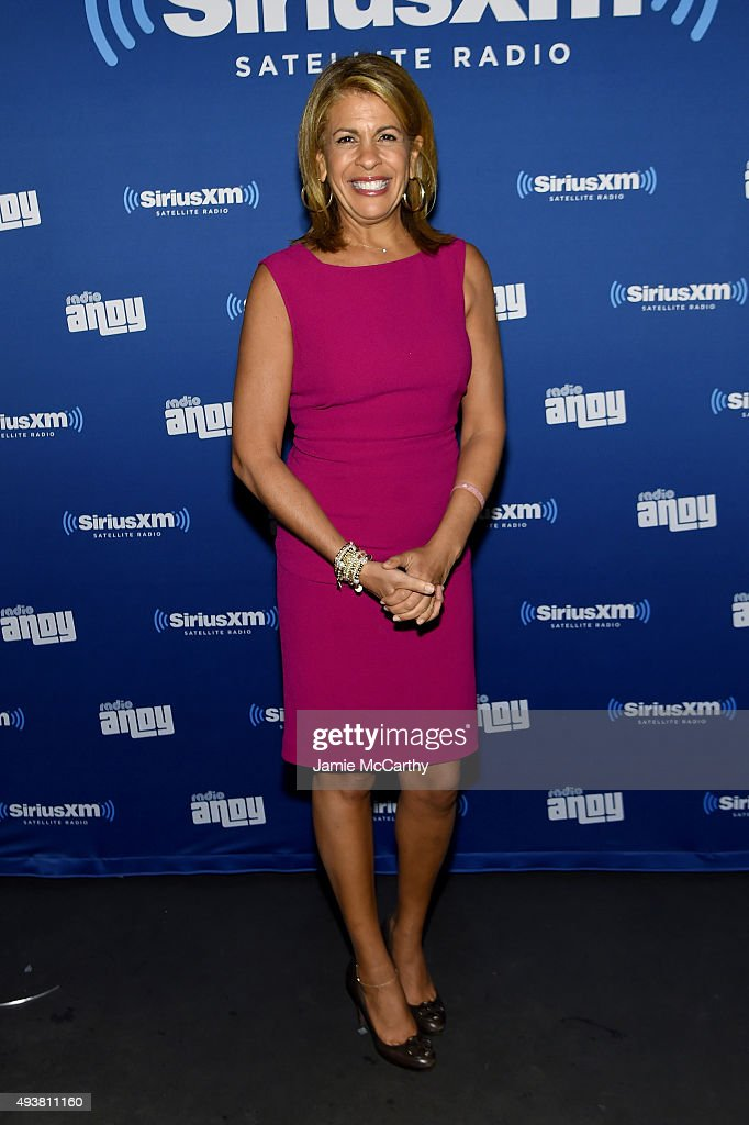 News Anchor Hoda Kotb attends Andy Cohen SiriusXM celebrate the launch of Cohen's New Exclusive SiriusXM Channel Radio Andy at PHD Rooftop Lounge at...