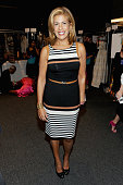 News anchor Hoda Kotb attends Dennis Basso Spring 2016 during New York Fashion Week The Shows at The Arc Skylight at Moynihan Station on September 15...