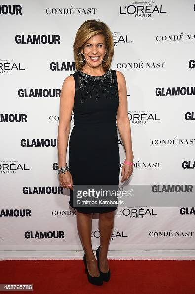 News Anchor Hoda Kotb attends the Glamour 2014 Women Of The Year Awards at Carnegie Hall on November 10 2014 in New York City