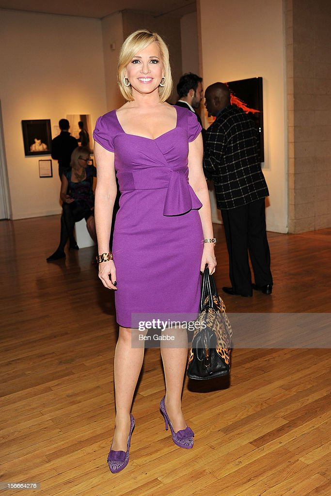 News anchor Jamie Colby attends the 2012 GLAAD Art Auction at Metropolitan Pavilion on November 18, 2012 in New York City.