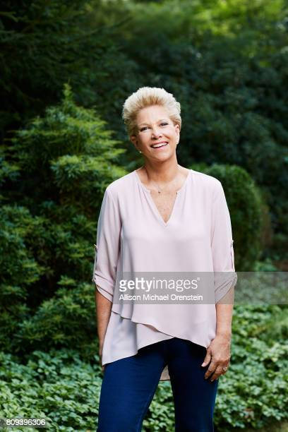 News anchor Joan Lunden is photographed for People Magazine on August 31 2015 in Greenwich Connecticut PUBLISHED IMAGE