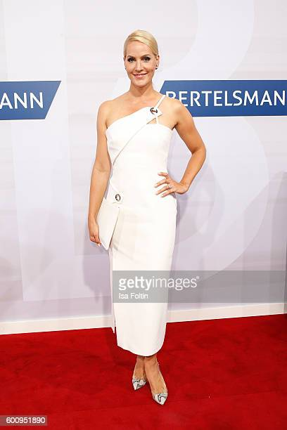 News anchor Judith Rakers attends the Bertelsmann Summer Party at Bertelsmann Repraesentanz on September 8 2016 in Berlin Germany