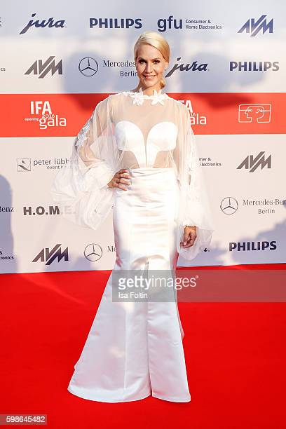 News anchor Judith Rakers attends the IFA 2016 opening gala on September 1 2016 in Berlin Germany