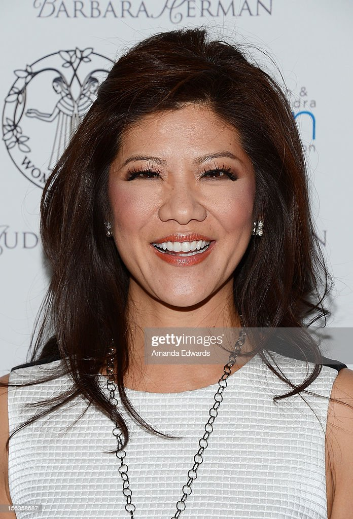 News anchor Julie Chen arrives at the 55th Annual Women's Guild Cedars-Sinai Anniversary Gala at the Beverly Wilshire Four Seasons Hotel on November 13, 2012 in Beverly Hills, California.