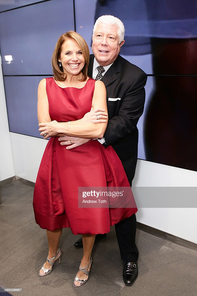 News anchor <a gi-track='captionPersonalityLinkClicked' href=/galleries/search?phrase=Katie+Couric&family=editorial&specificpeople=202633 ng-click='$event.stopPropagation()'>Katie Couric</a> (L) and designer Dennis Basso attend the Dennis Basso Store Opening at Dennis Basso Store on December 10, 2013 in New York City.