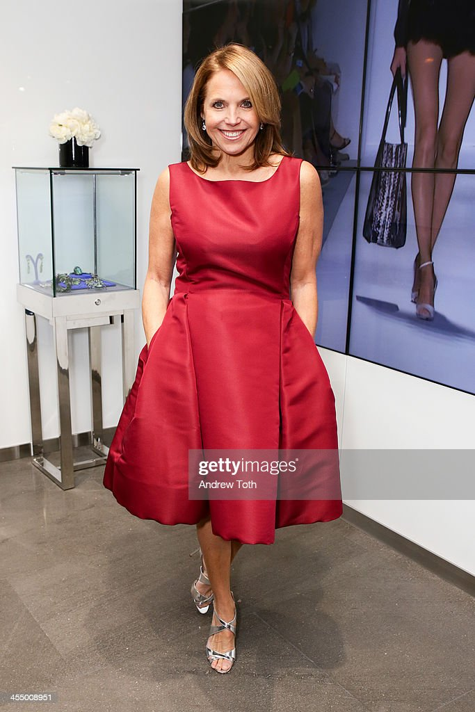 News anchor <a gi-track='captionPersonalityLinkClicked' href=/galleries/search?phrase=Katie+Couric&family=editorial&specificpeople=202633 ng-click='$event.stopPropagation()'>Katie Couric</a> attends the Dennis Basso Store Opening at Dennis Basso Store on December 10, 2013 in New York City.