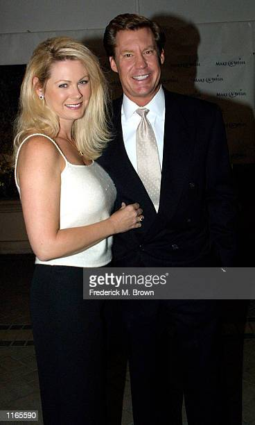 News anchor Kent Shocknek and his wife Karen attend the Make A Wish Foundation of Greater Los Angeles Second Annual Awards And Dinner Gala October 11...