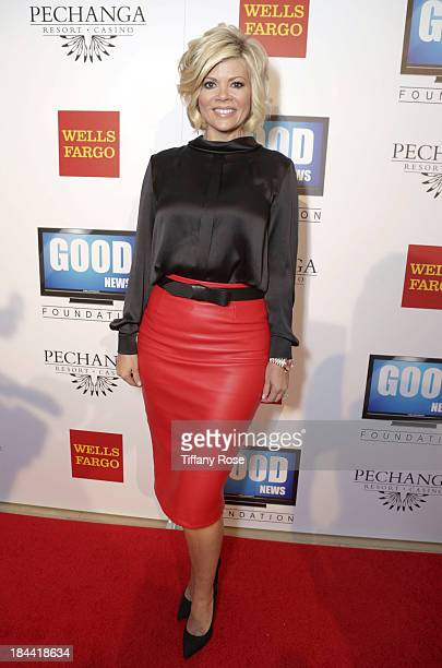 Red Leather Pencil Skirt Stock Photos and Pictures