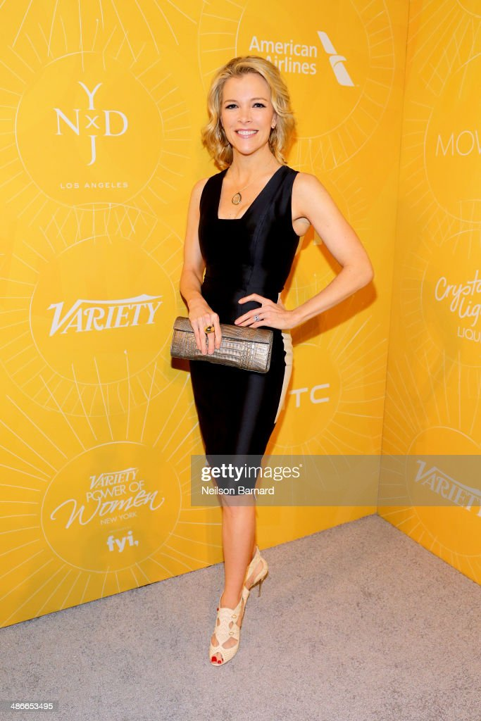 News anchor <a gi-track='captionPersonalityLinkClicked' href=/galleries/search?phrase=Megyn+Kelly&family=editorial&specificpeople=5417318 ng-click='$event.stopPropagation()'>Megyn Kelly</a> attends Variety Power Of Women: New York presented by FYI at Cipriani 42nd Street on April 25, 2014 in New York City.