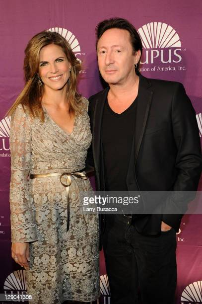News Anchor Natalie Morales and LFA Global Ambassador Julian Lennon attend the Lupus Foundation of America New York City Butterfly Gala at The Pierre...