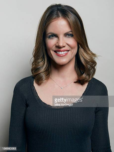 News anchor Natalie Morales is photographed for Self Assignment on September 11 2012 in New York City