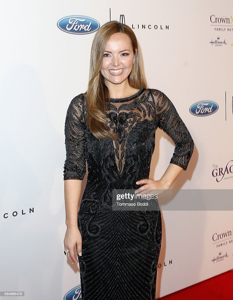 News anchor Nicole Lapin attends the 41st Annual Gracie Awards at Regent Beverly Wilshire Hotel on May 24, 2016 in Beverly Hills, California.
