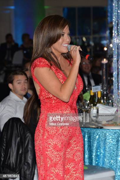 News anchor Robin Meade speaks at the 2014 Unbridled Eve Derby Gala during the 140th Kentucky Derby at Galt House Hotel Suites on May 2 2014 in...