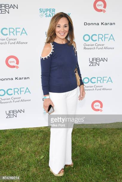 News Anchor Rosanna Scotto attends OCRFA's 20th Annual Super Saturday to Benefit Ovarian Cancer on July 29 2017 in Watermill New York