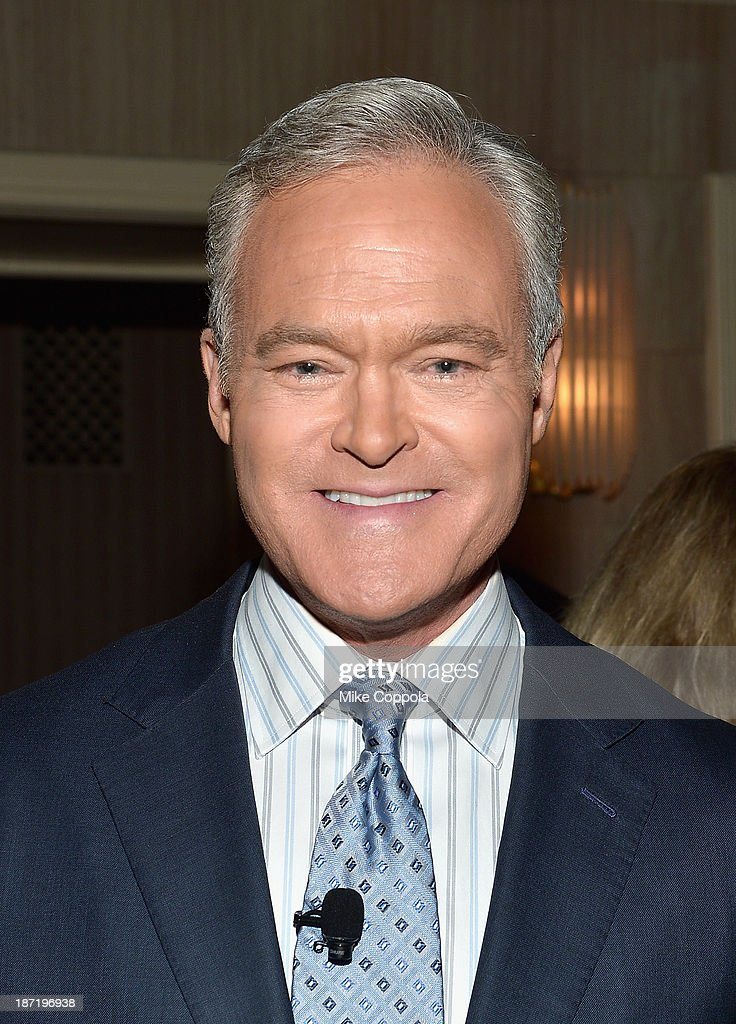 News anchor <a gi-track='captionPersonalityLinkClicked' href=/galleries/search?phrase=Scott+Pelley&family=editorial&specificpeople=5402652 ng-click='$event.stopPropagation()'>Scott Pelley</a> attends the Annual Freedom Award Benefit hosted by the International Rescue Committee at the Waldorf-Astoria hotel on November 6, 2013 in New York City.