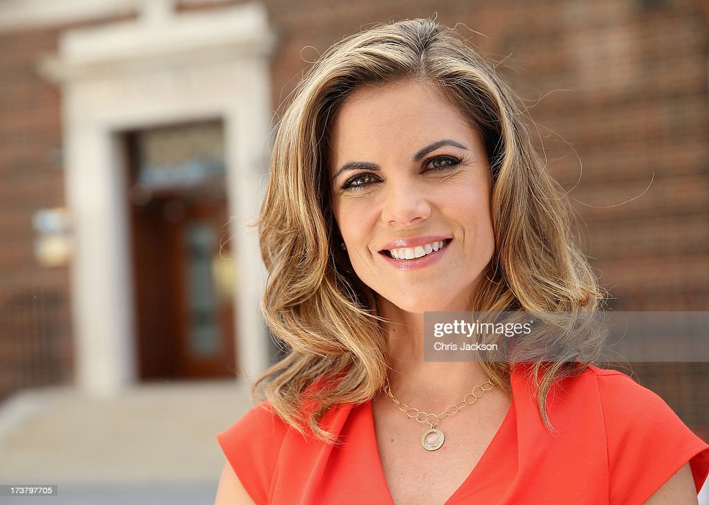 News Anchor with NBC <a gi-track='captionPersonalityLinkClicked' href=/galleries/search?phrase=Natalie+Morales+-+News+Anchor&family=editorial&specificpeople=710956 ng-click='$event.stopPropagation()'>Natalie Morales</a> poses for a portrait outside the Lindo wing of St Mary's Hospital as the UK prepares for the birth of the first child of The Duke and Duchess of Cambridge on July 18, 2013 in London, England.