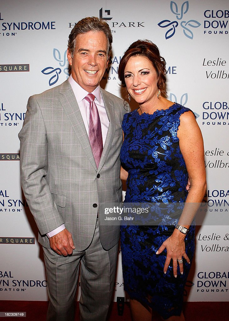 News anchors John Roberts and Kyra Phillips attend the Global Down Syndrome Foundation's Be Yourself Be Beautiful Fashion Show at Sheraton Downtown Denver Hotel on September 28, 2013 in Denver, Colorado.