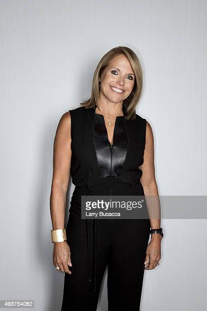 News anchors Katie Couric attends The Daily Front Row's Third Annual Fashion Media Awards at the Park Hyatt New York on September 10 2015 in New York...