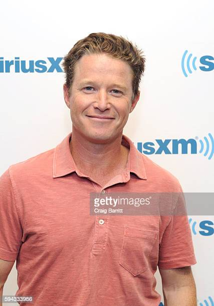 News' Billy Bush in conversation with Jeff Rossen for SiriusXM's TODAY Show Radio at SiriusXM Studios on August 22 2016 in New York City