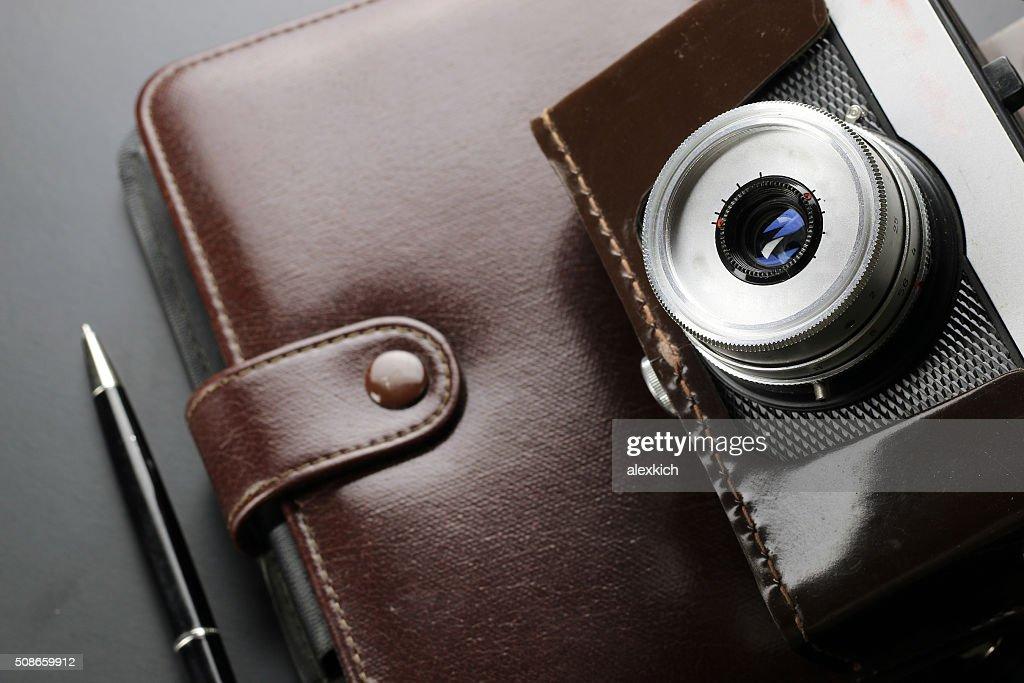 News camera journalism : Stock Photo