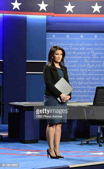 News Campaign 2016 Vice Presidential Debate between Democrat Tim Kaine and Republican Mike Pence at Longwood University CBSN Anchor Elaine Quijano...