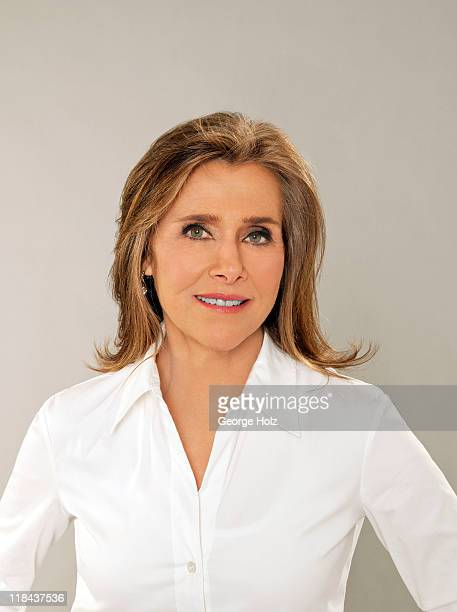 News caster Meredith Vieira is photographed for People Magazine on May 20 2011 in New York City