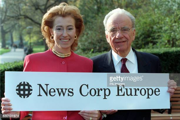 News Corporation chairman Rupert Murdoch in London today to announce the formation of a new company to investigate and manage media investments in...