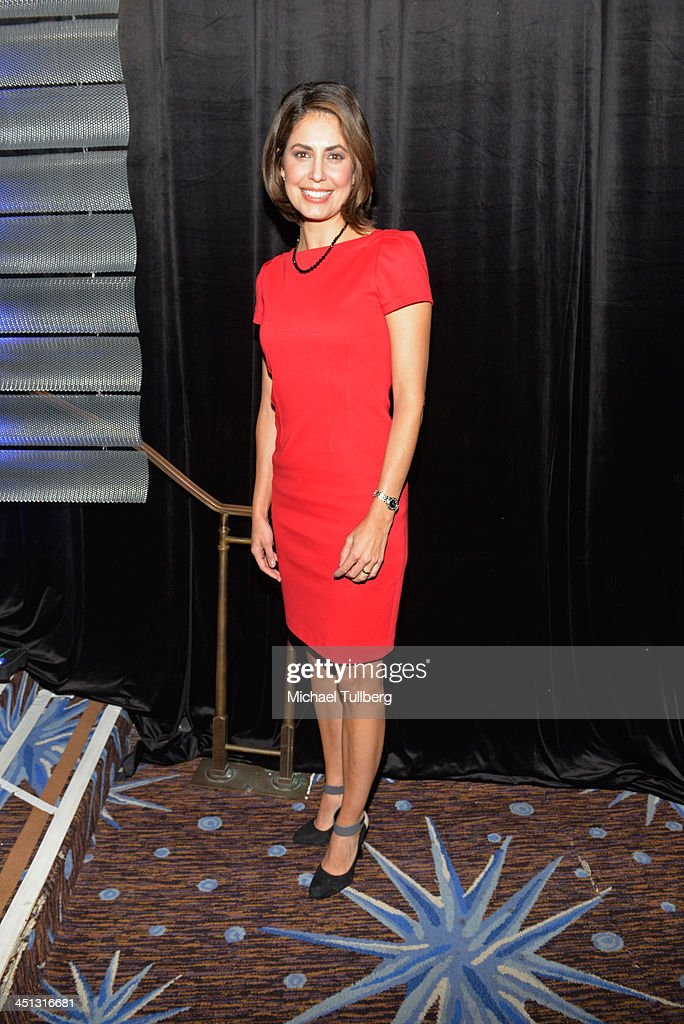 News correspondent Cecelia Vega attends the 2013 John Wooden Global Leadership Awards hosted by the UCLA Anderson School of Management at The Beverly Hilton Hotel on November 21, 2013 in Beverly Hills, California.