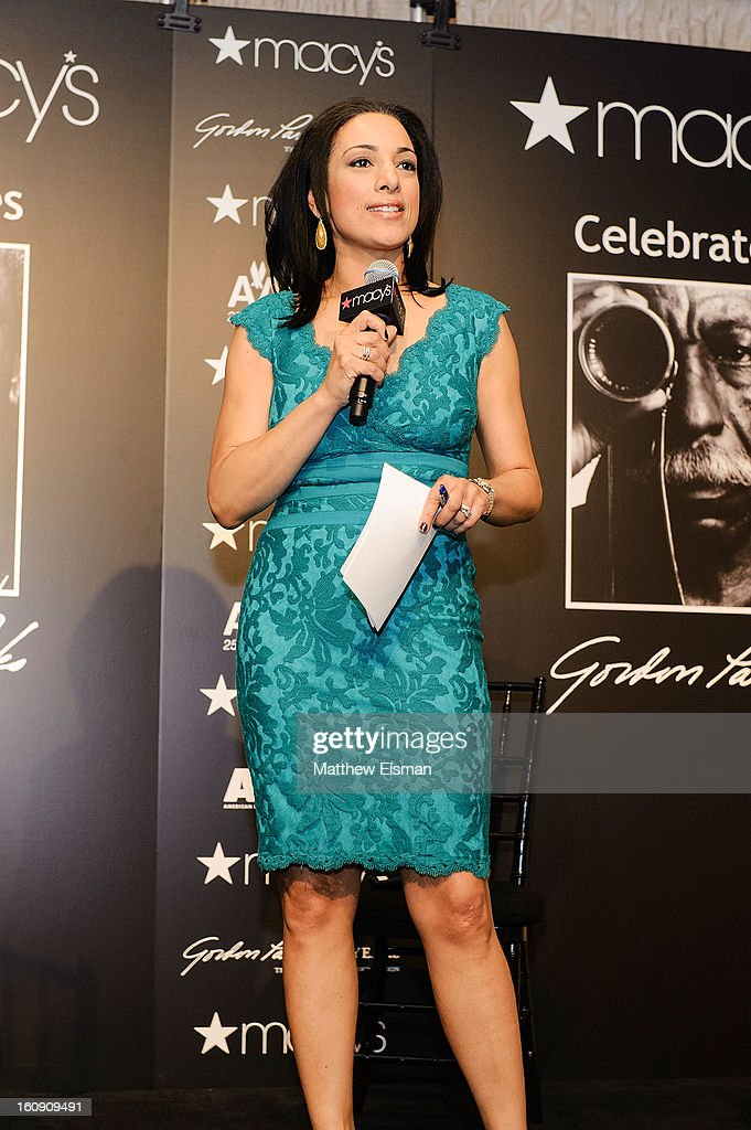 News correspondent Michelle Miller attends 'In Conversation' Honoring Gordon Parks at Macy's Herald Square on February 7, 2013 in New York City.