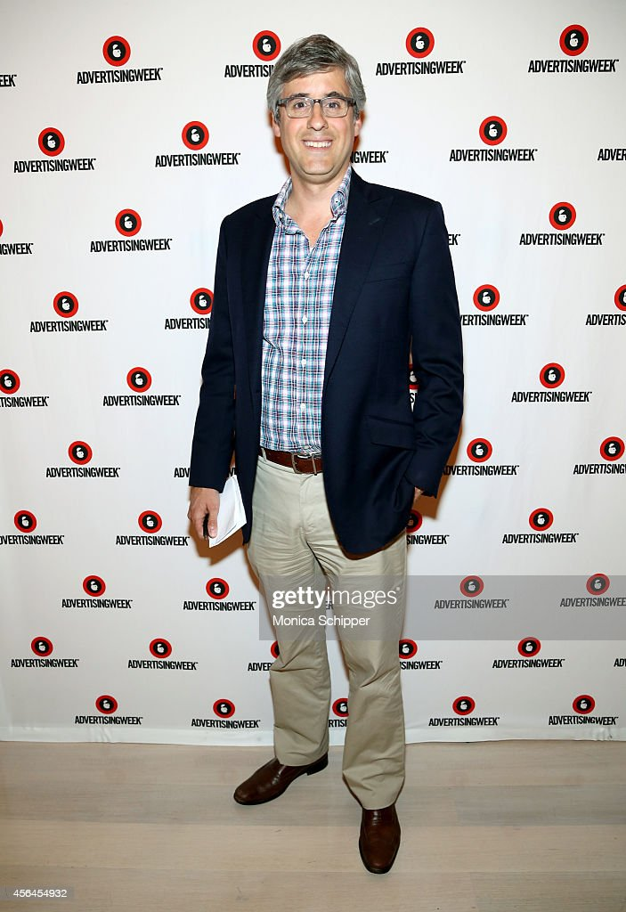 News Correspondent Mo Rocca attends Leveraging the Laugh Sparking Action through Humor panel during AWXI on September 30 2014 in New York City