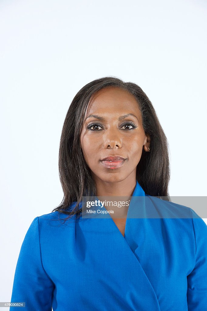 News correspondent Nima Elbagir poses for a portrait at The 74th Annual Peabody Awards Ceremony at Cipriani Wall Street on May 31, 2015 in New York City.