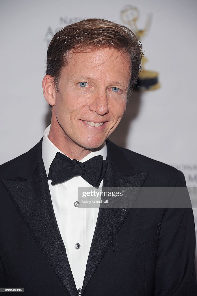 T.V. news correspondent N.J. Burkett attends the 56th Annual New York Emmy Awards at Marriott Marquis Times Square on April 14, 2013 in New York City.