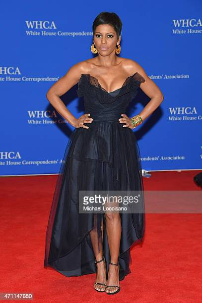 News correspondent Tamron Hall attends the 101st Annual White House Correspondents' Association Dinner at the Washington Hilton on April 25 2015 in...