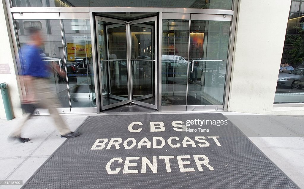 News headquarters is seen June 20, 2006 in New York City. CBS announced that Dan Rather is leaving the network after 44 years, following his departure as anchorman last year.