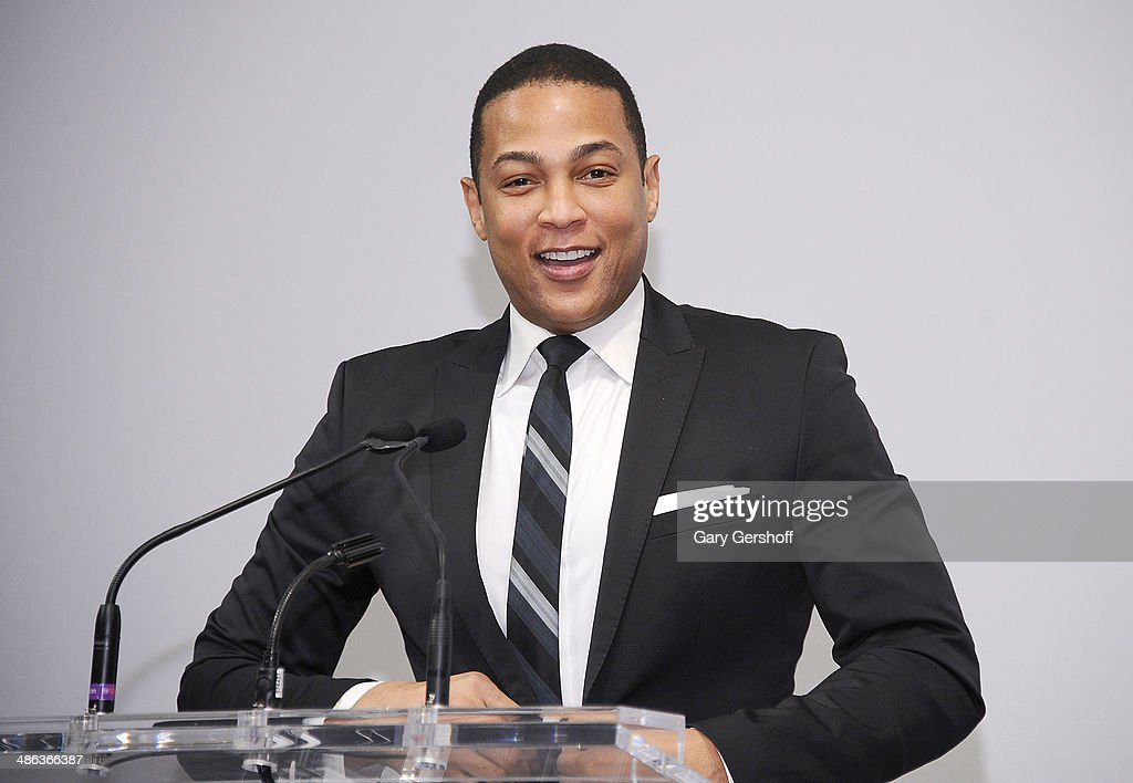TV news journalist <a gi-track='captionPersonalityLinkClicked' href=/galleries/search?phrase=Don+Lemon&family=editorial&specificpeople=6909448 ng-click='$event.stopPropagation()'>Don Lemon</a> speaks on stage at Housing Works Groundbreaker Awards Dinner at The Metropolitan Pavillion on April 23, 2014 in New York City.