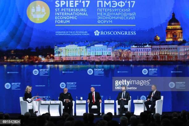 NBC News journalist Megyn Kelly Russian President Vladimir Putin Indian Prime Minister Narendra Modi Austrian Chancellor Christian Kern Moldovan...