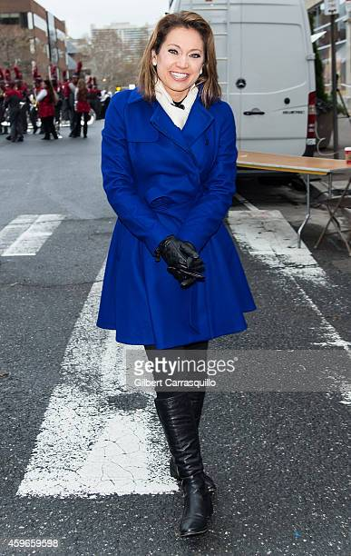 News Meteorologist Ginger Zee attends the 95th Annual 6abc Dunkin' Donuts Thanksgiving Day Parade on November 27 2014 in Philadelphia Pennsylvania
