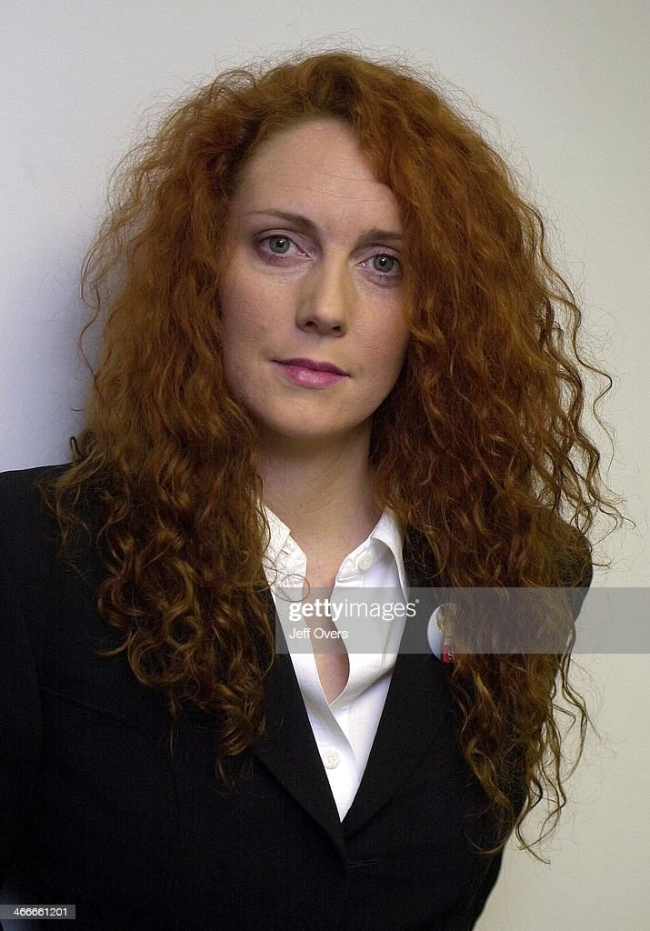 News of the World Editor Rebekah Wade after appearing on the BBC programe Breakfast With Frost Sunday December 16 2001. On the programme, Wade justified her newspapers latest move to publish details of convicted paedophiles..