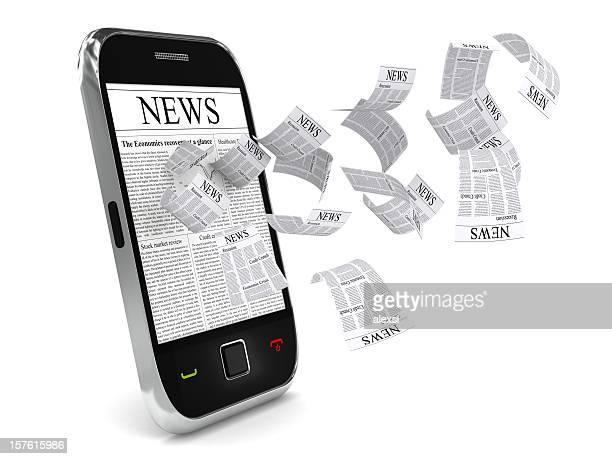 Nachricht auf Handy