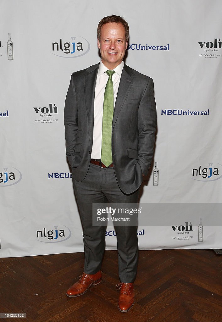 News personality Rick Reichmuth attends National Lesbian And Gay Journalists Association 18th Annual New York Benefit on March 21, 2013 in New York, United States.
