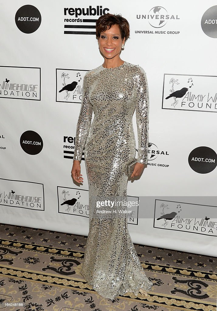 News personality Sade Bederinwa attends the 2013 Amy Winehouse Foundation Inspiration Awards and Gala at The Waldorf=Astoria on March 21, 2013 in New York City.