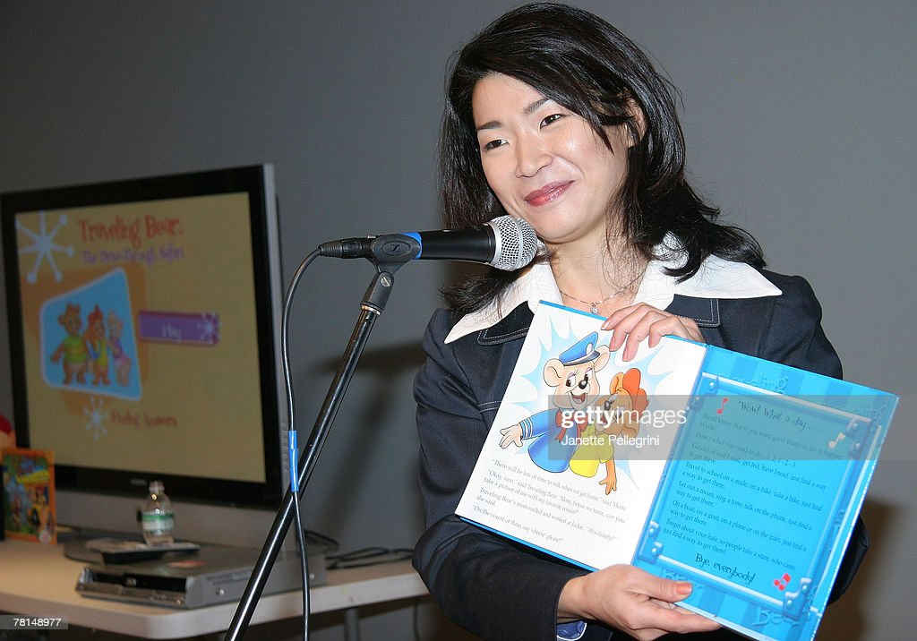 TV News personality Vivian Lee reads one of the 'Traveling Bears' Books at their Series Debut at The Children's Museum of Manhattan on November 29, 2007 in New York City.