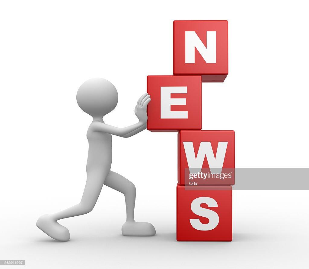 Noticias de : Foto de stock