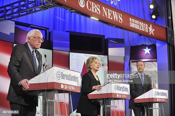 News Political Director and FACE THE NATION anchor John Dickerson moderates the CBS News Democratic Presidential Debate at Drake University Des...
