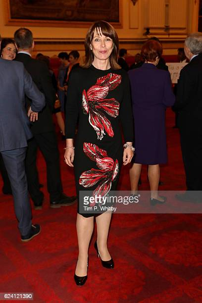 News Presenter Kay Burley attends as the National Youth Theatre celebrates its Diamond Anniversary hosted by HRH The Earl of Wessex at Buckingham...