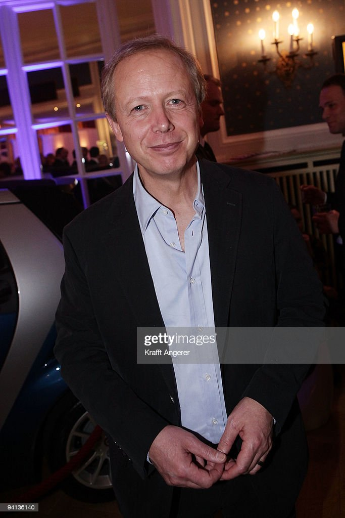 News presenter Tom Buhrow attends the Movie Meets Media 10th Anniversary event on December 07, 2009 in Hamburg, Germany.