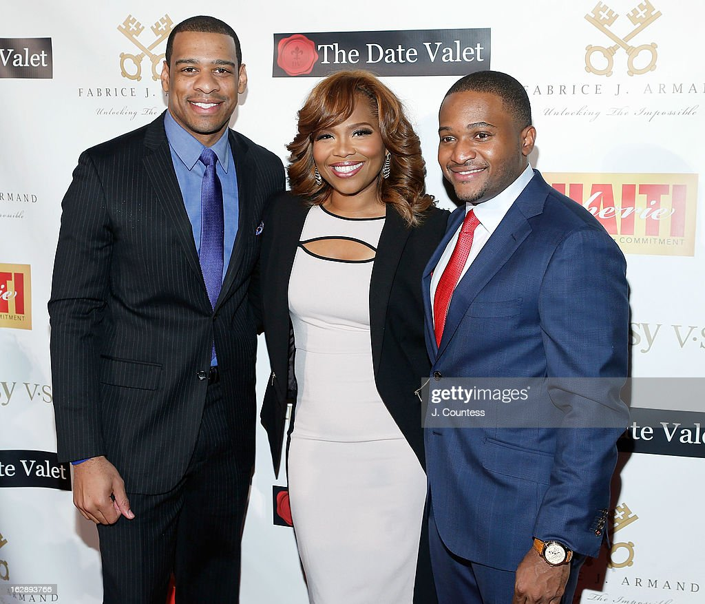 News reporter DeMarco Morgan, music industry executive Mona Scott-Young and Fabrice J. Armand attend the 3rd Annual