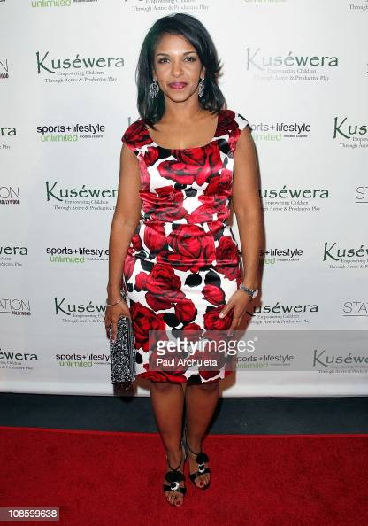 News Reporter Richelle Carey arrives at the Party With A ...