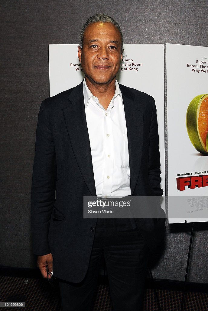 News' Ron Claiborne attends the 'Freakonomics' premiere at Cinema 2 on September 29, 2010 in New York City.