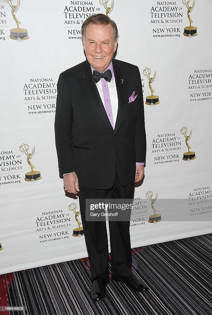 T.V. news senior correspondent Marvin Scott attends the 56th Annual New York Emmy Awards at Marriott Marquis Times Square on April 14, 2013 in New York City.